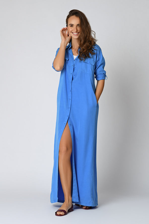 ROBE ALONA  - FRENCH BLUE