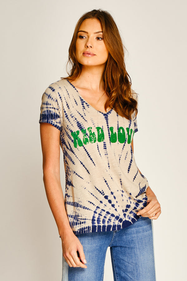 TEE SHIRT WILD LOVE - BEIGE
