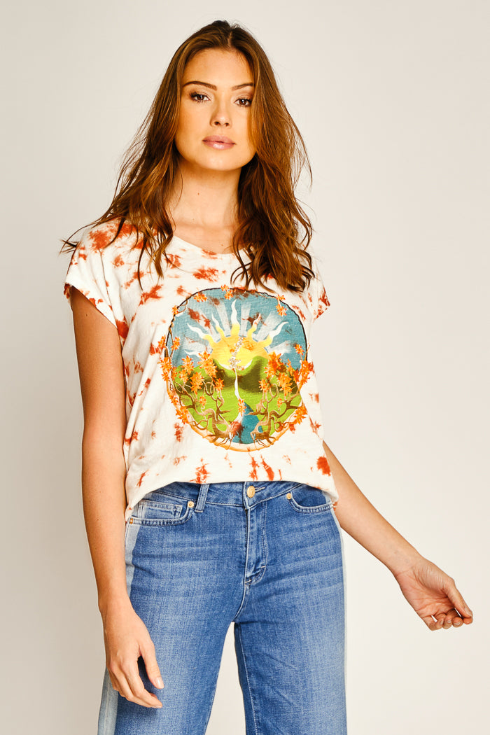 TEE SHIRT SUNSHINE - HAVANE