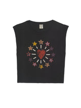 TEE SHIRT STAR - CARBONE