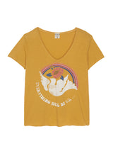 TEE SHIRT COLOMBE - YELLOW