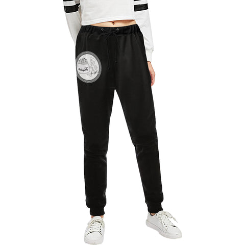 TRHAPLETE Logo Pants Unisex All Over Print Casual Sweatpants (Model L11)