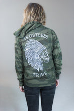 Load image into Gallery viewer, Trustless Chief Camo Zip-up Hoodie