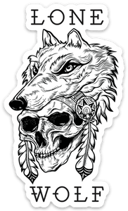Lone Wolf Decal