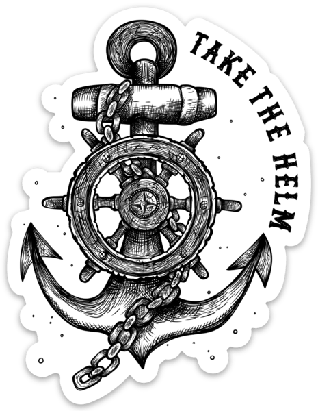 Take The Helm Decal