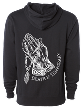 Load image into Gallery viewer, Death Is Temporary Hoodie