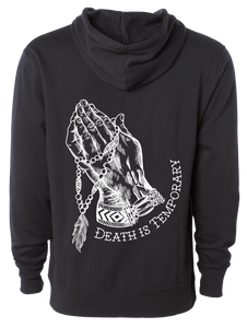 Death Is Temporary Hoodie