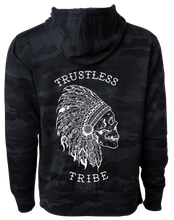Load image into Gallery viewer, Trustless Chief Black Camo Hoodie