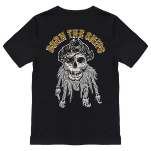 Burn The Ships GOLD T-Shirt