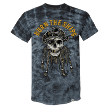 Load image into Gallery viewer, Burn The Ships Black Tie Dye T-Shirt