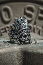 Load image into Gallery viewer, Stainless Steel Warchief Ring
