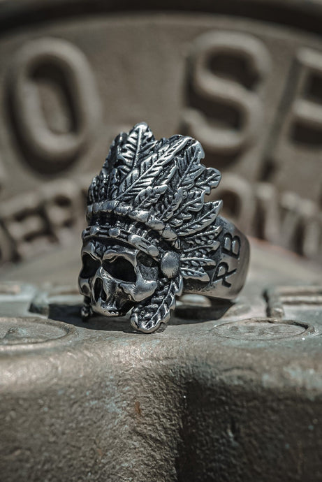 Stainless Steel Warchief Ring