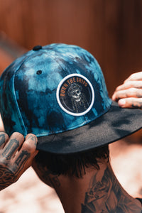 Burn The Ships Tie Dye Snapback
