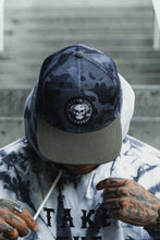 Load image into Gallery viewer, Never Die Easy Black Camo Snapback