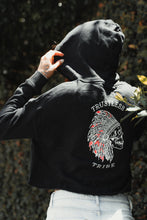 Load image into Gallery viewer, Trustless Chief Crop Hoodie