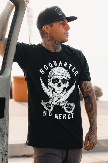 No Quarter Black T-Shirt