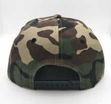 Load image into Gallery viewer, Trustless Tribe Camo Snapback