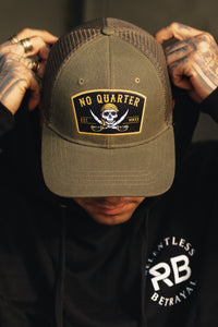 "No Quarter ""Trucker"" Snapback"