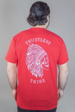 Load image into Gallery viewer, Trustless Chief red T-Shirt