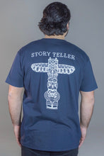 Load image into Gallery viewer, Story Teller Navy T-Shirt