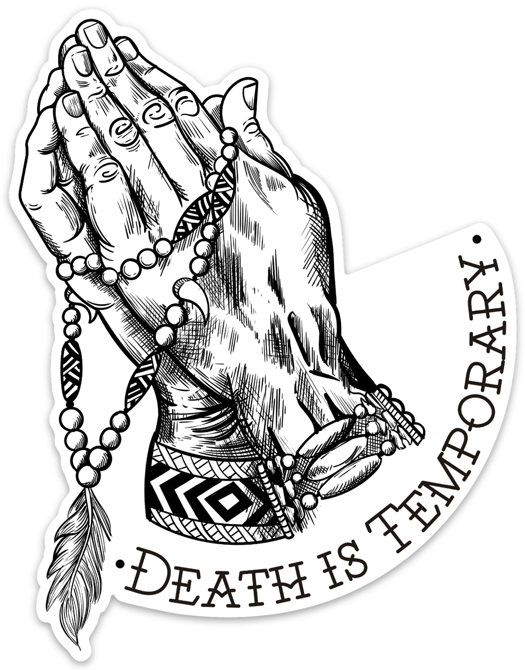 Death is Temporary Decal