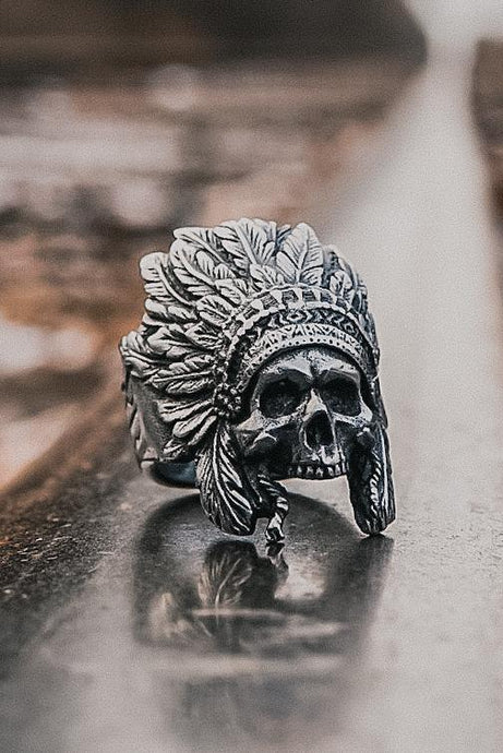 Warchief Pewter Ring