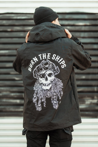 Burn The Ships Pullover Jacket