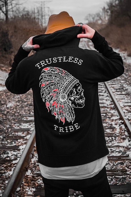 Trustless Chief Hoodie RED