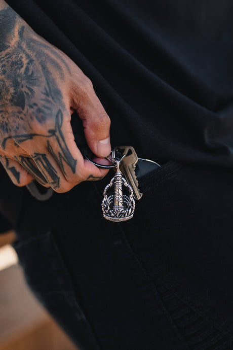 Guide My Reckless Soul Keychain