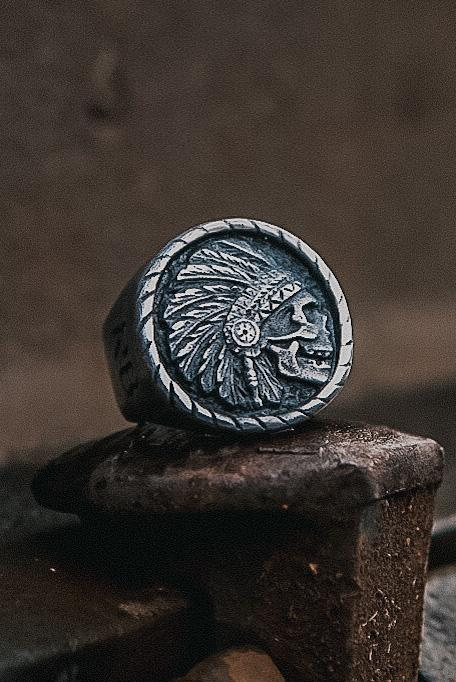 Trustless Chief Pewter Ring