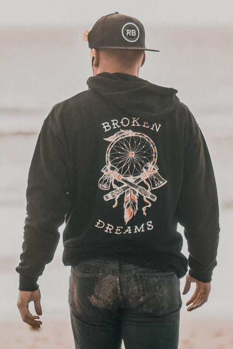 Broken Dreams RED Hoodie