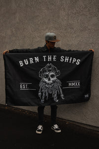 Burn The Ships Flag