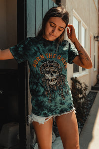 Burn The Ships Tie Dye T-Shirt