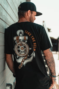 Take The Helm GOLD T-Shirt