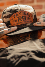 Load image into Gallery viewer, Stay Rad Camo Snapback