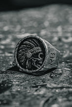 Load image into Gallery viewer, Trustless Chief Pewter Ring