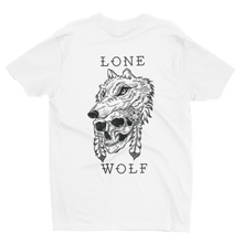 Load image into Gallery viewer, Lone Wolf White T-Shirt