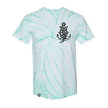Load image into Gallery viewer, Take the Helm Mint Tie Dye T-Shirt
