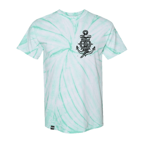 Take the Helm Mint Tie Dye T-Shirt