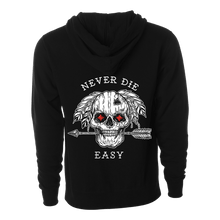 Load image into Gallery viewer, Never Die Easy Hoodie RED