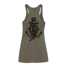 Load image into Gallery viewer, Women's- Take The Helm Army Tank
