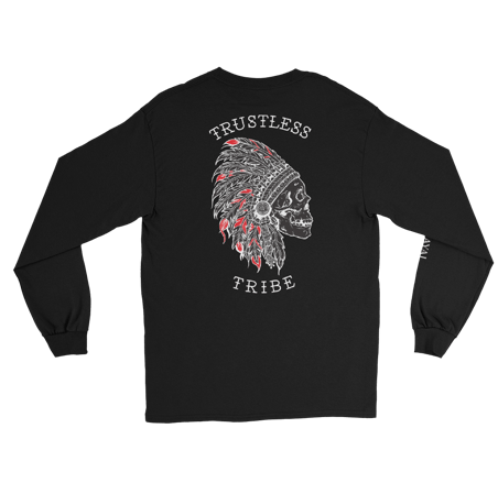 Trustless Chief Long Sleeve RED