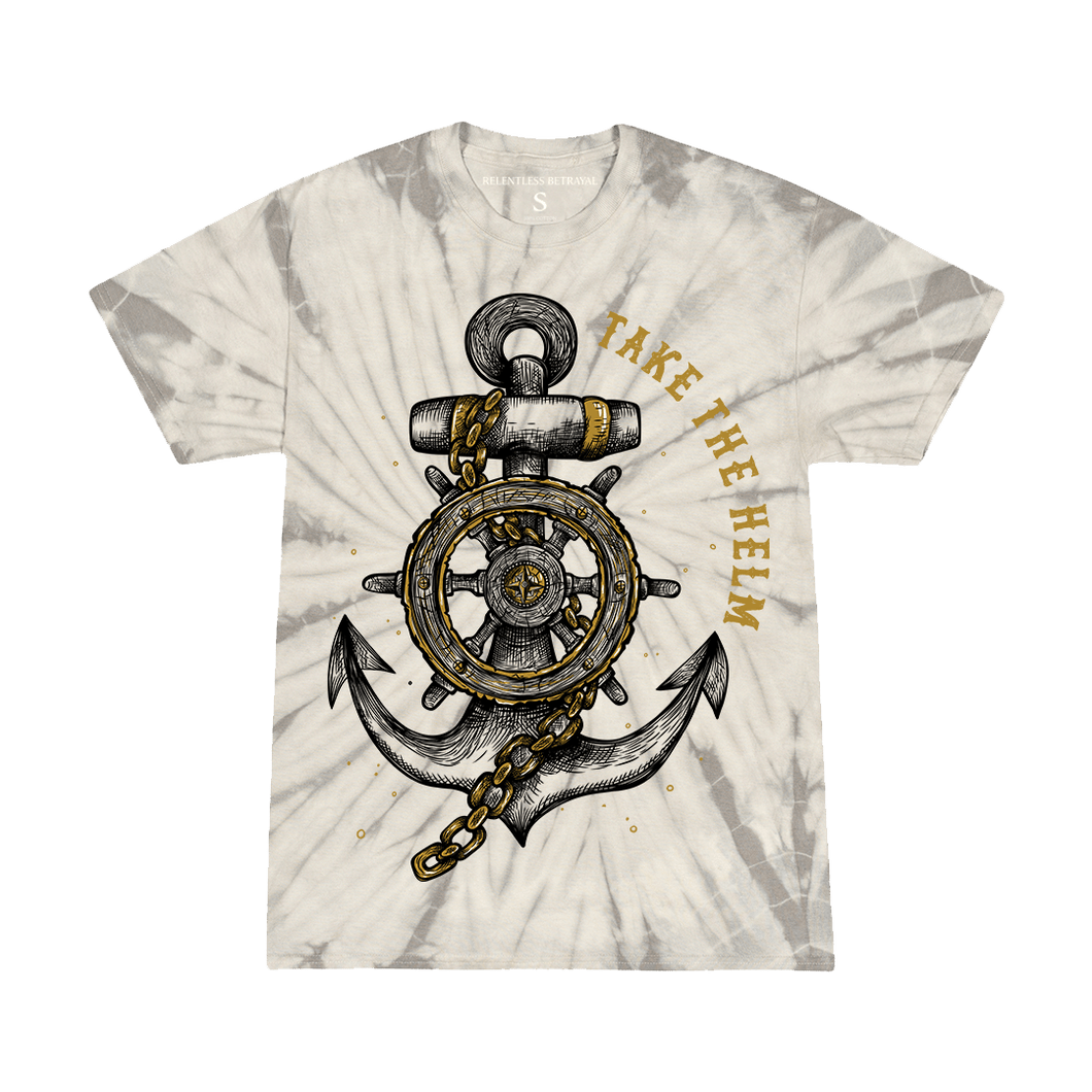 Kids Take The Helm Spider Tie Dye