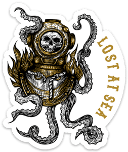 Lost At Sea Decal