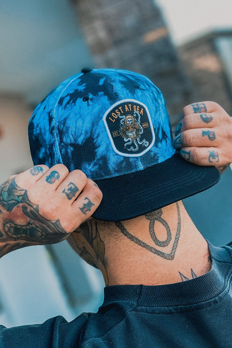 Lost At Sea Tie Dye Snapback
