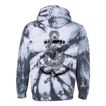 Load image into Gallery viewer, Take The Helm Tie Dye Hoodie