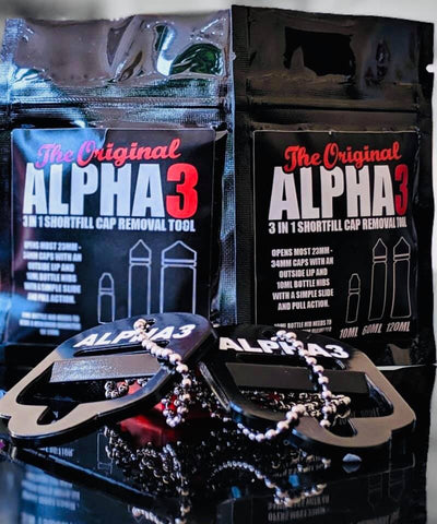 ALPHA3 - 3 in 1 short fill bottle opener - You vape