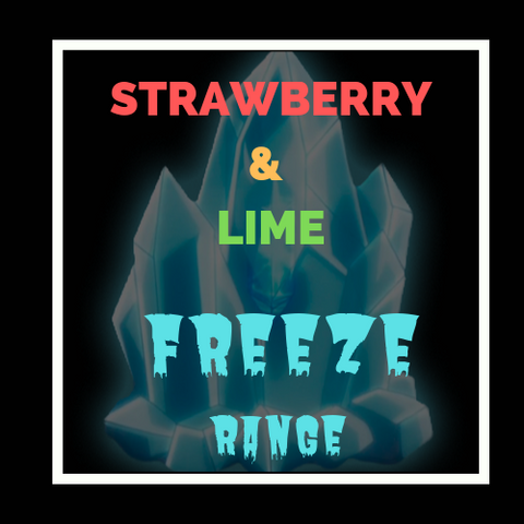 Strawberry & lime FREEZE - You vape