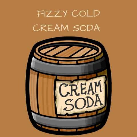 FIZZY COLD CREAM SODA - Blend & Vape