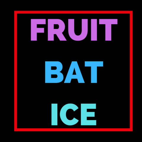 FRUIT BAT ICE - Blend & Vape